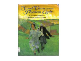 quilt Underground Railroad Canada plantation North Star overseer slavery seamstress Master