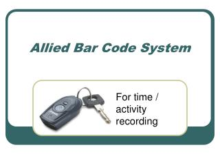 Allied Bar Code System