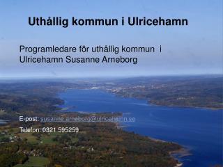 Uthållig kommun i Ulricehamn