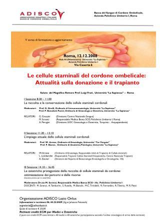 Le cellule staminali del cordone ombelicale:  Attualità sulla donazione e il trapianto