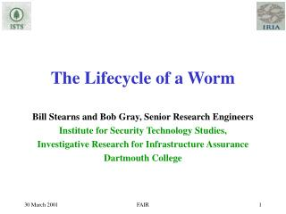 The Lifecycle of a Worm