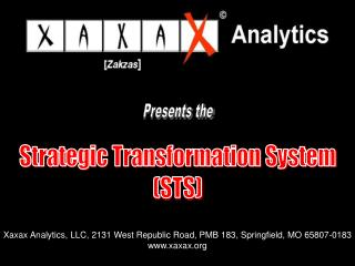 Strategic Transformation System (STS)