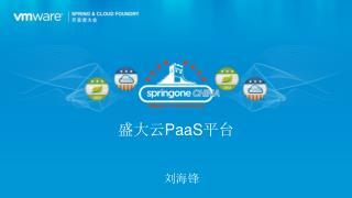 盛大云 PaaS 平台