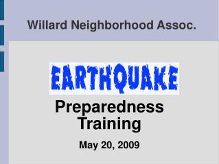 Willard Neighborhood Assoc.