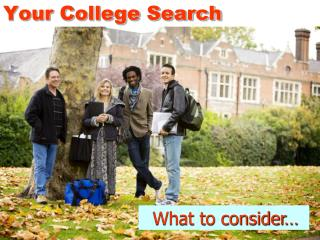 Your College Search