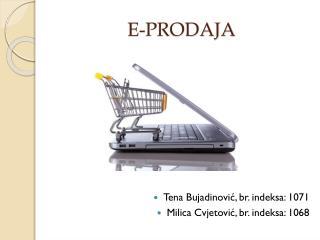 E-PRODAJA
