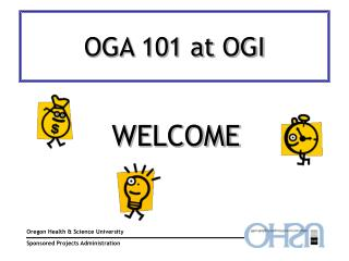 OGA 101 at OGI