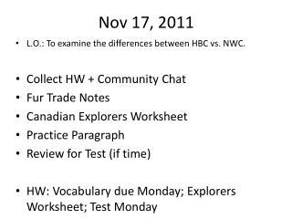 Nov 17, 2011