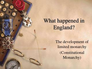 What happened in England?
