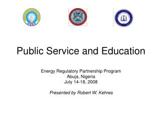 Public Service and Education