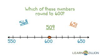 Which of these numbers round to 600?