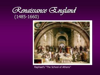 Renaissance England