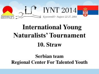 International Young Naturalists' Tournament