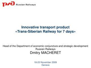 18-20  November  2009 Geneva