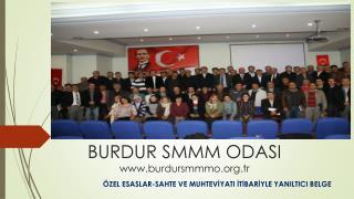 BURDUR SMMM ODASI burdursmmmo.tr