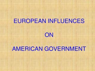 greco roman influences in american government