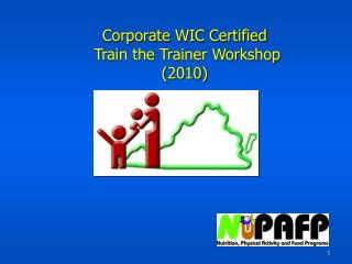 Corporate WIC Certified  Train the Trainer Workshop 2010