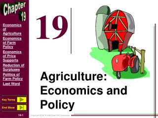 Agriculture: Economics and Policy
