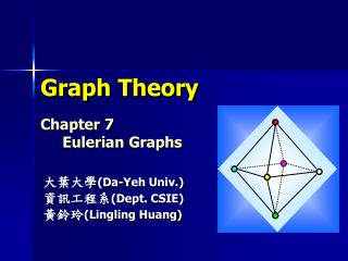 Graph Theory Chapter 7      Eulerian Graphs