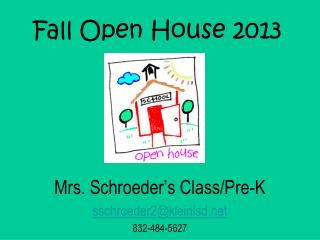 Fall Open House 2013