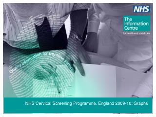 NHS Cervical Screening Programme, England 2009-10: Graphs