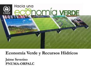 Econom�a Verde y Recursos H�dricos