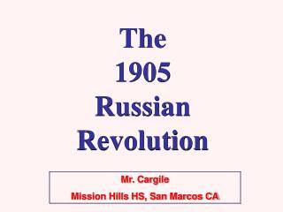 Mr. Cargile Mission Hills HS, San Marcos CA