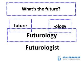What�s the future?