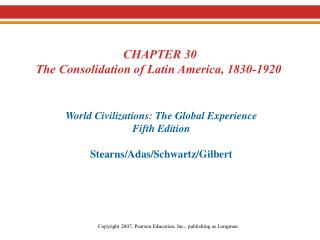 I. From Colonies to Nations A. Causes of Political Change American Revolution Model