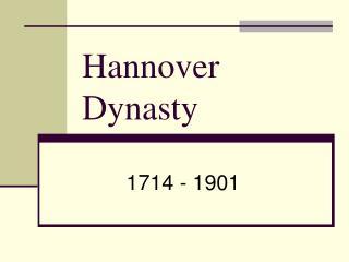 Hannover Dynasty