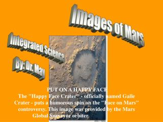 Images of Mars