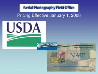 Pricing Effective January 1, 2008