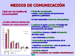 M EDIOS DE COMUNICACIÓN