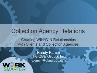 Collection Agency Relations