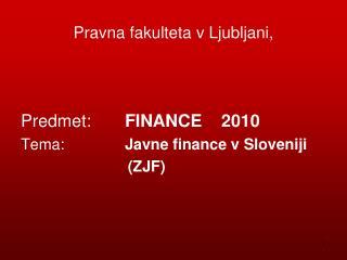 Pravna fakulteta v Ljubljani,