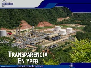 Transparencia  En ypfb
