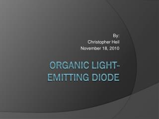 Organic Light-emitting Diode