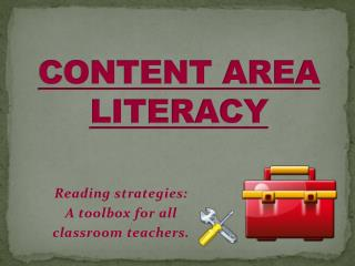 CONTENT AREA LITERACY