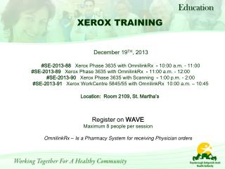 Register on  WAVE Maximum 8 people per  session