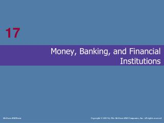 Money, Banking, and Financial Institutions