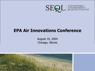 EPA Air Innovations Conference