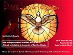 23 de mayo de 2010 Pentecost s C Juan 14, 15-16.23b-26