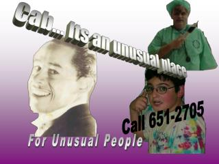 For Unusual People