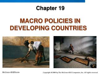 MACRO POLICIES IN DEVELOPING COUNTRIES