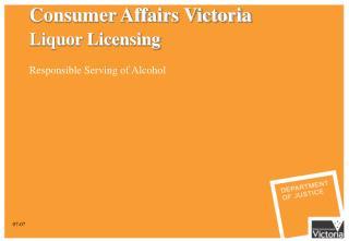 Consumer Affairs Victoria Liquor Licensing
