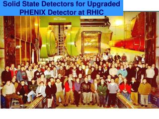 Solid State Detectors for Upgraded PHENIX Detector at RHIC