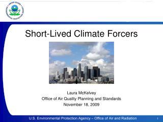 Short-Lived Climate Forcers