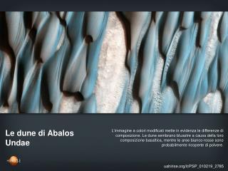 Le dune di Abalos Undae