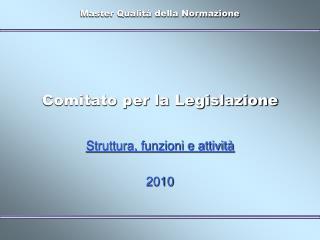 Comitato per la Legislazione