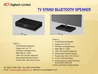 TV Stand Bluetooth Speaker
